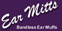 Ear Mitts - Bandless Ear Muffs
